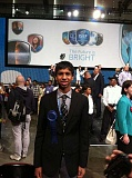 COURTESY PHOTO - Ashwin Datta won first place today in mechanical engineering at the Intel International Science Fair being held in Pittsburgh.