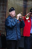 SUBMITTED PHOTO - Bugler and World War II submariner George Hager will perform a 'Taps' duet on May 15.