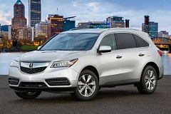 AMERICAN HONDA MOTOR CO. INC. - The exterior of the 2016 Acura MDX is contemporary without being overly flashy.
