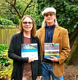 RITA A. LEONARD - Westmorelander Lisa D. Holmes, left, recently published I Heart Oregon (& Washington): 25 of the Portland Areas Best Hikes. Husband John Clark Vincent, at right, has just published Planting a Future: Profiles from Oregons New Farm Movement.