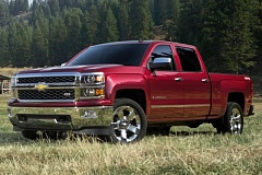 GENERAL MOTORS CORPROATION - The 2015 Chevy Silverado may be more comfortable than ever, but it still looks and performs like the full-size truck it is.