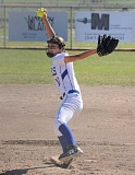 LON AUSTIN/CENTRAL OREGONIAN - Pitcher Mckuenzie McCormick is one of a strong contingent of Cowgirls returning next year. After reaching the state tournament for the first time in five years, the Cowgirls expect to be even stronger next year.
