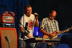 SPOTLIGHT PHOTO: JOHN WILLIAM HOWARD - The Wieners take the stage Saturday evening at Veterans Park, wrapping up the live music lineup for Scappoose Summerfest.