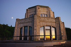 CONTRIBUTED BY OREGON STATE PARKS - Vista House at Crown Point will host the next song circle on Friday, July 10.