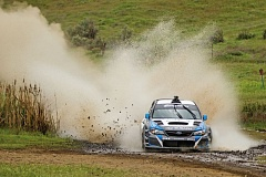 TRIBUNE PHOTOS: DAVID BLAIR - Images from last years Oregon Trail Rally show the dust, dirt, mud and water flying, and the isolation of racing outside Dufur and Hood River. This years rally starts at Portland International Raceway on Friday night.