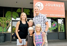 SETH GORDON - A new start - Scott Edinger, who has served as an associate pastor at Northside Community Church since returning from Africa, will organize the start of Journey Church in Sherwood.