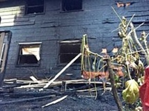 SUBMITTED PHOTO - An early morning fire on Wednesday heavily damaged a West Slope home.