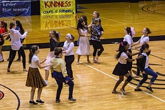 NEWS-TIMES PHOTOS: TRAVIS LOOSE - Wearing everything from 50s attire to all black, dance students put their skills to good use during the 2015 Thunderbirds Dance Camp at Pacific University.