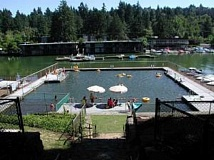 SUBMITTED PHOTO - The Lake Oswego Swim Park is free and open to all residents of Lake Oswego. Its usually open from July 1 through the end of August.