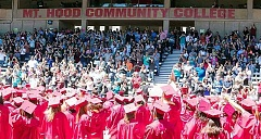 CONTRIBUTED PHOTO - In June, 1,463 students received certificates or degrees from Mt. Hood Community College, 69 of them were Sandy High School graduates.