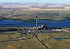 FILE PHOTO  - Portland General Electric's Boardman coal plant is slated to stop burning coal in 2020, leaving Oregon without any coal plants.