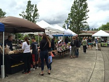 FILE - The Tualatin Farmers Market had little success with its new day and location this summer. An organizer said this week the market is closing down 'indefinitely' after an early end to its 2015 season.