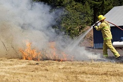 PAMPLIN MEDIA GROUP FILE PHOTO - Tualatin Valley Fire & Rescue has lifted a ban on recreational and agricultural burning across its service area.