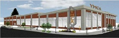 BY FRIENDS OF THE DOWNTOWN TIGARD YMCA - A rendering of the $34.5 million Tigard community center.
