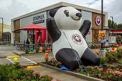 NEWS-TIMES PHOTO: TRAVIS LOOSE - A Panda Express restaurant celebrated its Grand Opening in Cornelius with an official ribbon-cutting last Friday, Sept. 25.