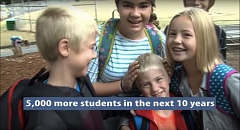 COURTESY PORTLAND PUBLIC SCHOOLS - A screen shot of a video produced by Portland Public Schools describing the need for a new boundary review process.