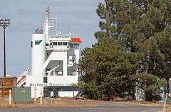 PORTLAND TRIBUNE: JONATHAN HOUSE - The Westwood Rainier docked briefly at Terminal 6 in late July.