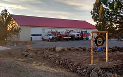 SUBMITTED PHOTO - The new Lake Chinook Fire Station
