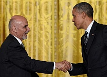 ASSOCIATED PRESS - An exchange student at Lake Oswego High School in the 1966-67 school year, Afghanistan President Mohammad Ashraf Ghani credits his time on student council as being influential in his life. Pictured here: President Barack Obama talks with Ghani following a news conference in March 2015 in the White House.
