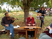 SUBMITTED PHOTO - The CREST Farm Open House enjoyed live music throughout the day Saturday, Oct. 17.