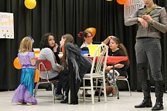 SPOKESMAN PHOTO: ANDREW KILSTROM - Boeckman Creek Primary held its annual Fall Carnvial Friday, Oct. 30, including games, raffles, candy, popcorn, face painting and more. Students and parents showed up in their best costumes to celebrate Halloween and another completed week of school.