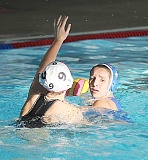 JEFF WILSON/THE PIONEER - Madras' Julia Martinez looks for an open teammate during last week's water polo match against Mountain View.