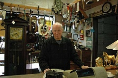 ESTACADA NEWS PHOTO: ISABEL GAUTSCHI - After 35 years, Mike Doolittle will retire at the end of November. After he retires, Doolittle plans to 'sit in the tavern and whine about the government,' though he says he'll miss his customers.