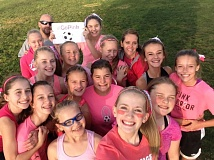 SUBMITTED PHOTO - The team includes Emily Burgoyne, Bailey Gray, Sadie Hill, Mallory Hugo, Anna Keylock, Kortney Keylock, Katie Laidlaw, Lauren Mallen, Kassie Priem, Hayven Richardson, Joelle Robeson, Taylor Salisbury, Kara Sipes, Catalina Slangan, Coach Teri Sipes and Coach Dustin Gray.