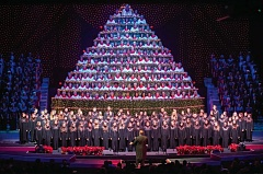 PHOTO COURTESY: SINGING CHRISTMAS TREE - Seen anything like the 300-voice choir arranged like a tree coming back to New Hope Community Church?