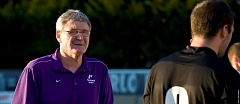 COURTESY: STEVE GIBBONS - Bill Irwin (left) is stepping down at the University of Portland.