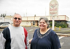 SETH GORDON - Retiring - Pasquale Piscitelli and daughter-in-law Marie Piscitelli said goodbye to Pasquale's Italian Restaurant last weekend after 30 years of business in downtown Newberg.