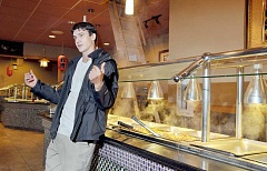 GARY ALLEN - New direction - Angelo Josh has taken over as general manager at 99 Pounds restaurant, which closed for about a week early this month. Josh is planning to make some changes at the restaurant.
