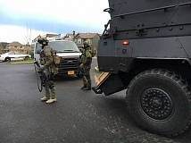 SUBMITTED PHOTO: CCSO - SWAT teams responded to the incident on San Remo Avenue this afternoon.
