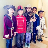 COURTESY PHOTO: KELLY ROOKE - Free Orchards Elementary third-graders had a dress rehearsal this month for a special day in April when they transform into the wax figure of a historical person.
