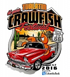 COURTESY OF THE TUALATIN CRAWFISH FESTIVAL - The logo, theme and presenting sponsor for this year's Tualatin Crawfish Festival were announced Thursday.