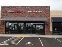 SUBMITTED PHOTO - ArtiZan Salon and Koba Grill are the two new businesses that will soon open in Gramor Development's Parkway Village at Sherwood.