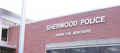 FILE PHOTO - Residents can weigh in on a Sherwood Police Department survey, which will be part of staffing/operations study expected to be released in March.