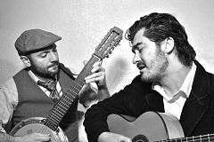 COURTESY PHOTO - Local Latino folk community artist Joaquin Lopez (right), along with others, will perform music and other entertainment centered around Valentines Day at the Walters Cultural Arts Center on Feb. 12 at 7:30 p.m.