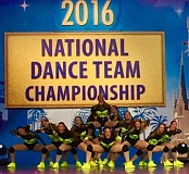 SUBMITTED PHOO - Southridge High School's Hawkettes Dance Team earned its way to the final rounds in its division at the NDA National Dance Team Championship at Walt Disney World.