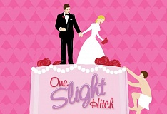 SUBMITTED PHOTO  - 'One Slight Hitch' opens Clackamas Repertory Theatres 2016 season.