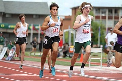 HILLSBORO TRIBUNE PHOTO: AMANDA MILES - Century senior Angel Salazar finished eighth in the Class 6A boys 1,500 meters at the state meet last spring.