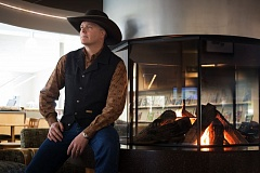 TIMES PHOTO: JONATHAN HOUSE - Tom Swearingen will be bringing his cowboy poetry to the Art of the Story Storytelling Festival.