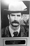 COURTESY PHOTO - Gus Wachline proclaimed his innocence to the moment of his public death by hanging in 1898, an incident that weighed so heavily on Qashington County Sheriff William Bradford (pictured here) that he claimed it drove him to insanity.