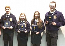 SUBMITTED - The Canby FFA team did very well at the state competition March 18-21