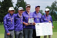TIMES FILE PHOTO - The Sunset boys golf team took second in state last year and should be one of the top teams in the Metro League District this season.