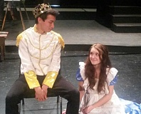 SUBMITTED - Matthew Powell plays the Beast and Cadence Moore plays Belle in the Baker Prairie Middle School production of 'Beauty and the Beast,' which opens this week.