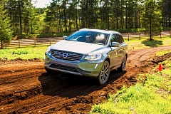 NWAPA/VINNIE NGUYEN - The 2016 Volvo XC60 T6 AWD Drive-E handled both on-road and off-road tracks at Mudfest 2016 with ease.