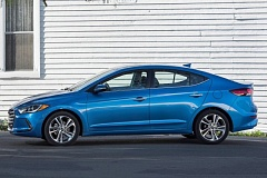 HYUNDAI MOTOR COMPANY - The 2017 Hyundai Elantra is one of the best looking compacts on the road today.