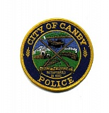 SUBMITTED - City of Canby Police patch.