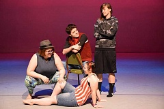 COURTESY PHOTO - The students in the new Devised Theatre course at Pacific University will present six vignettes about gender identity in 'Much Ado About Gender,' produced by Jacob Coleman.